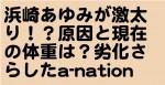 浜崎あゆみが激太り!?原因と現在の体重は?劣化さらしたa-nation